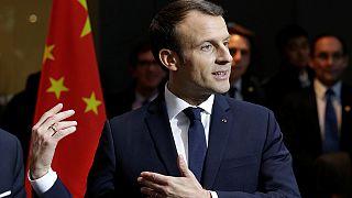 """Ez neki kínai - Macron a """"kedvenc mondatát"""" tanulja"""