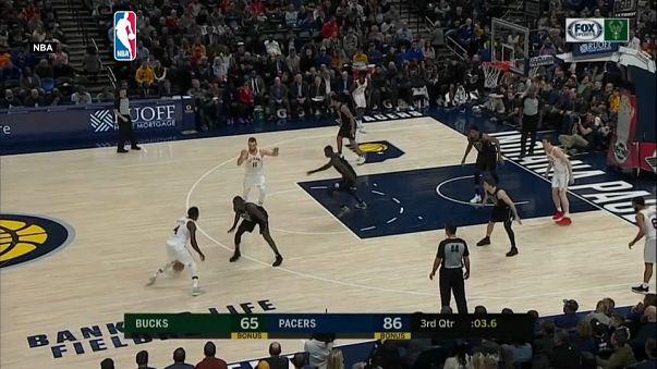 NBA: Pacers, Bucks'ı mağlup etti