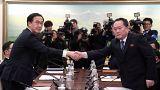 Kuzey ve Güney Kore arasında tarihi görüşme