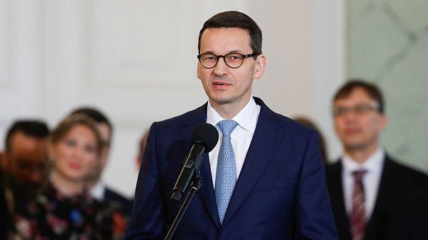 Mateusz Morawiecki assumiu Governo polaco há um mês