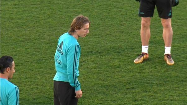 El centrocapista del Real Madrid Luka Modric paga a Hacienda para evitar ir a la cárcel