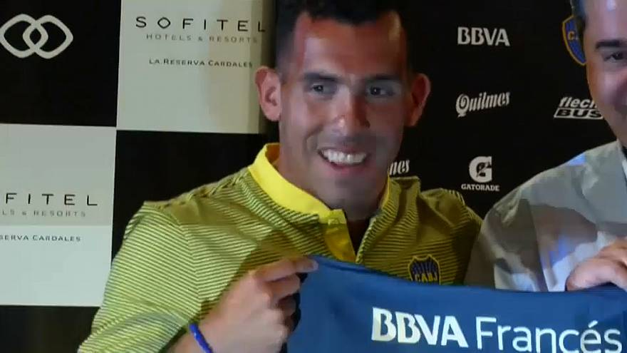 Carlos Tevez leaves Shanghai and returns to first club
