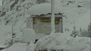 Alps hit by 'once-in-a-generation' snow storms