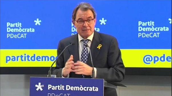 Catalogna: si dimette Artur Mas, leader del partito separatista