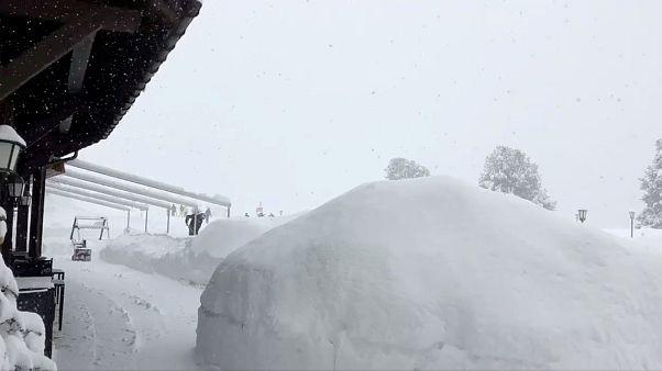 Κίνδυνος χιονοστιβάδας σε Γαλλία και Ιταλία