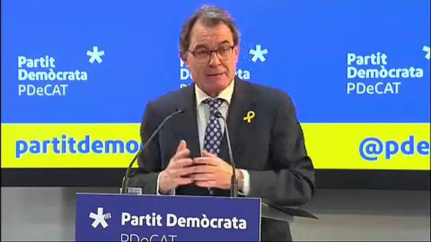 Lemondott a korábbi katalán elnök