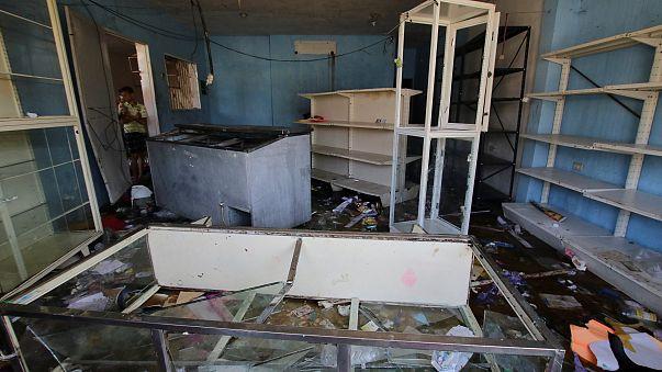 Deuxième journée de pillages au Venezuela
