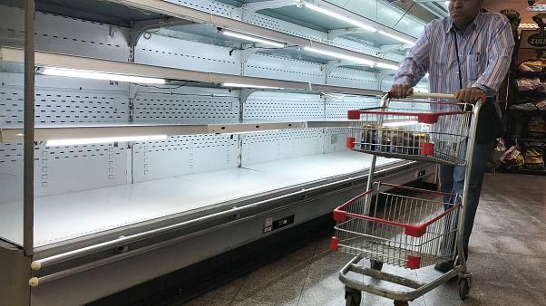 Venezuela: Massive Plünderungen und leere Lebensmittelregale