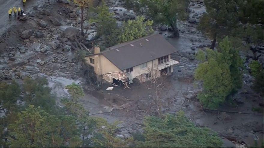 Au moins 13 morts dans des coulées de boue en Californie