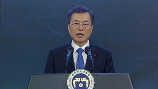 Moon Jae-In speaks on thawing North/South relationship