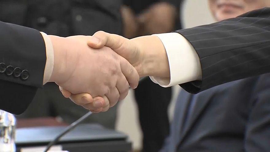 Annäherung der beiden Koreas: Ziel ist atomwaffenfreie Halbinsel