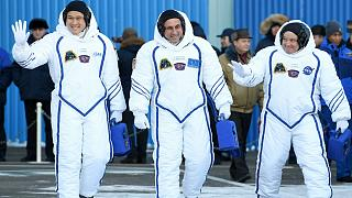 Members of the International Space Station