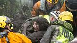 Rescuers search for survivors after deadly mudslides in California