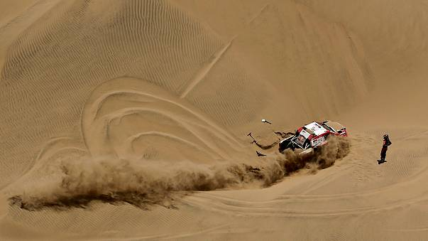 Dakar : Sébastien Loeb dompte le désert