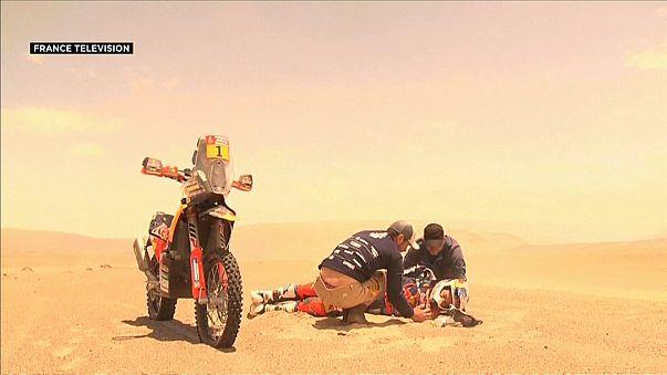Dakar Rallisi'nin 4. etabına Fransa damgası