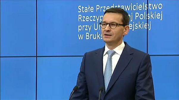 Varsó ragaszkodik az igazságügyi reformhoz