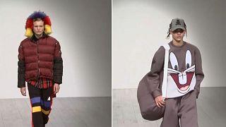 Londoner Fashion Week Men's: Schrille Styles und Minimalismus