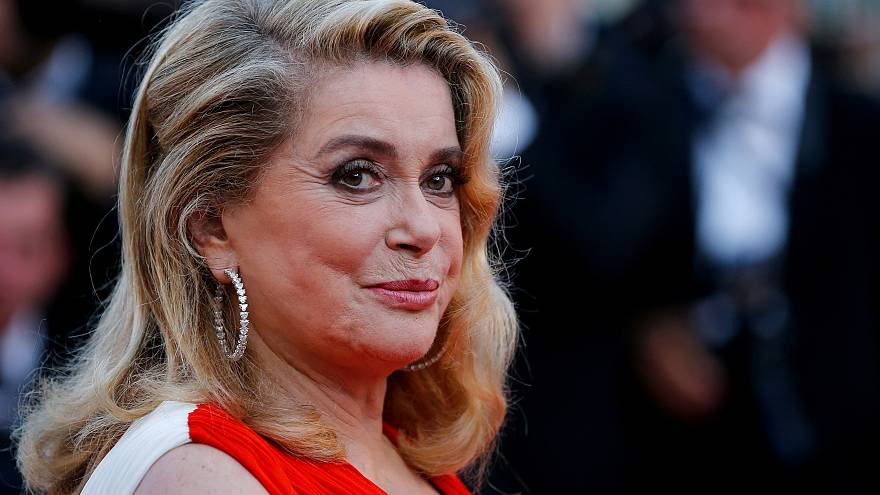 99ae1a9f07f Catherine Deneuve at the Cannes Film Festival in 2017 (FILE)