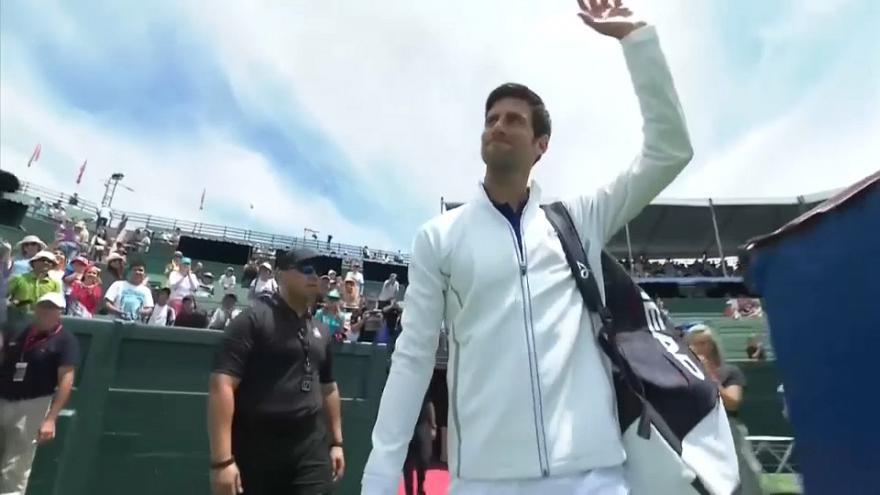 Novak Djokovic ha vuelto