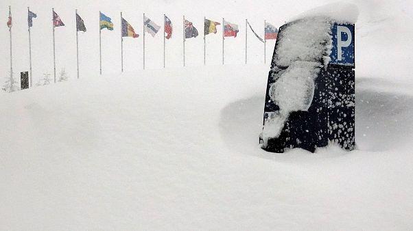 Caos sulle Alpi, a causa delle forti nevicate dei giorni scorsi