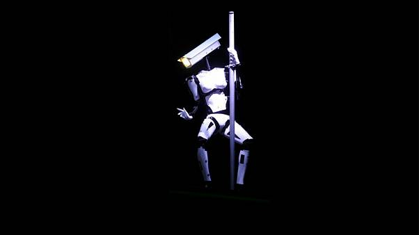The art project behind pole-dancing robots in Las Vegas