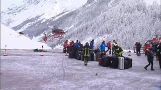 Zermatt: airlifted to safety