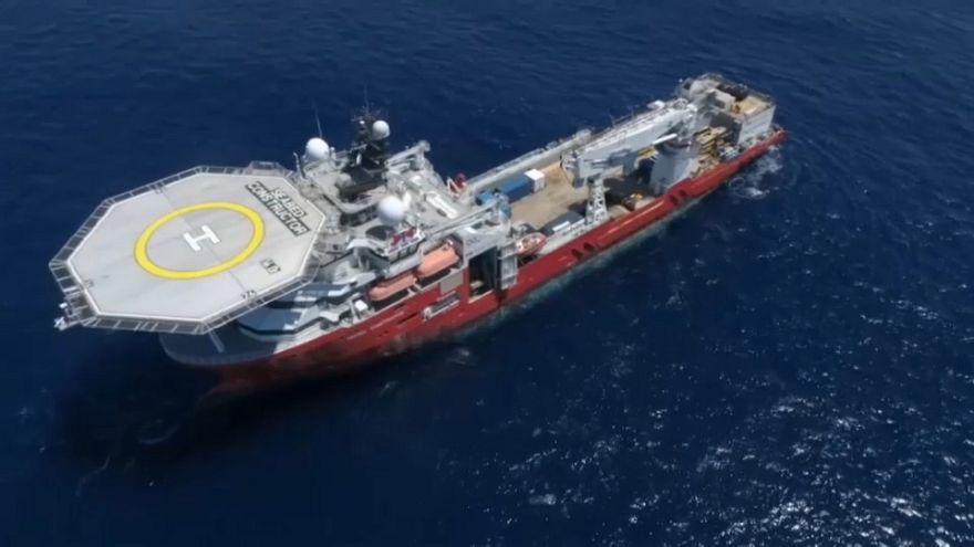 Ocean Infinity vessel will scour sea bed for debris