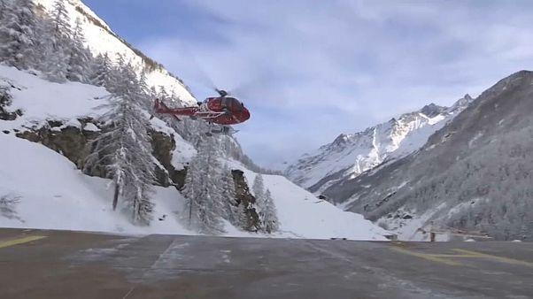 Thousands stranded in European ski resorts