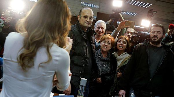A sztrájktörvény miatt tüntettek Athénban