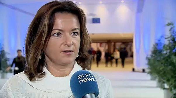 L'eurodéputée slovène Tanja Fajon