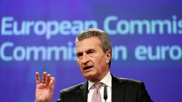 Günther Oettinger, Commissaire européen en charge du Budget