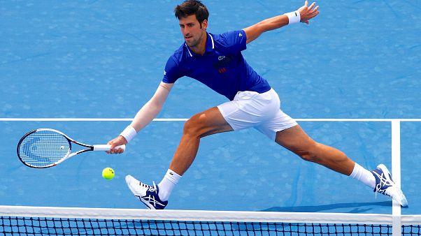 Retour gagnant pour Novak Djokovic