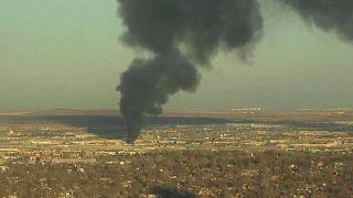 Denver: incendio in impianto riciclaggio metalli