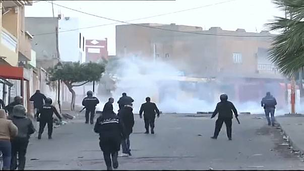 Ausschreitungen in Tunesien