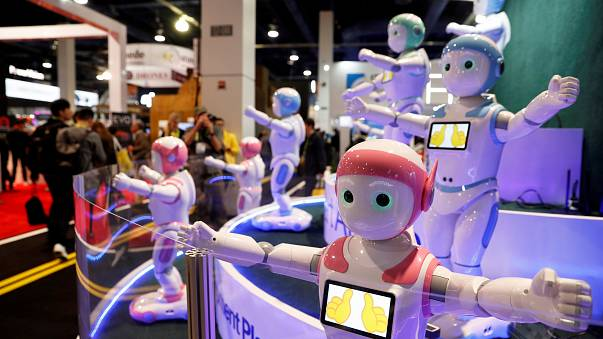 Robots and time travel at CES 2018
