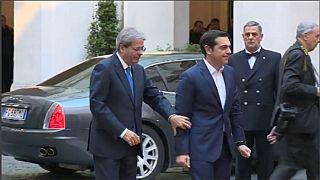 Roma: Bilaterale Italia-Grecia