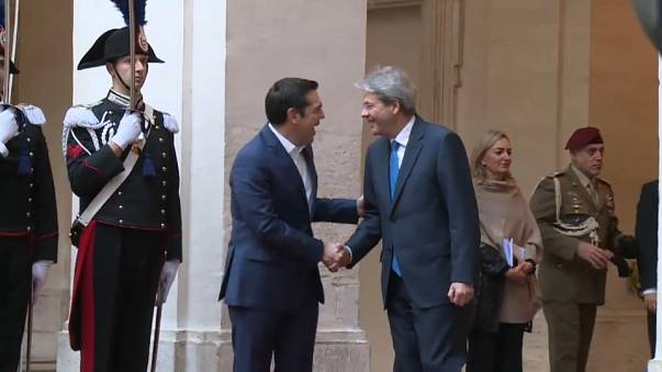 Greek and Italian leaders discuss migration ahead of Southern Europe summit
