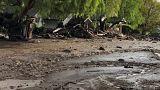 Kalifornien: Nach Feuer jetzt Wolkenbrüche und Erdrutsche