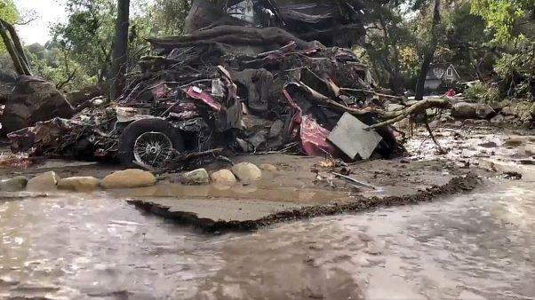 Kaliforniya'da sel ve heyelan: En az 15 ölü