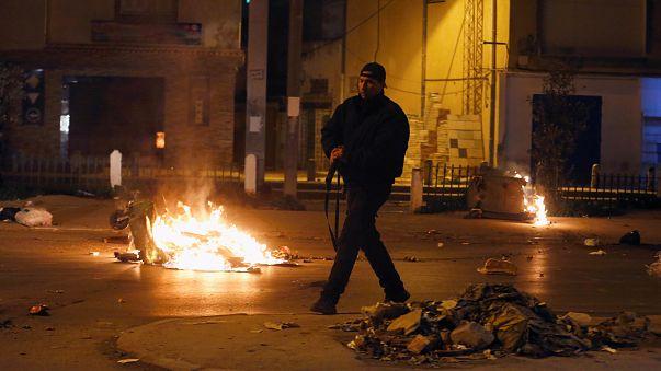 Túnez vive su tercera noche consecutiva de protestas