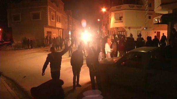 Протесты в пяти городах Туниса