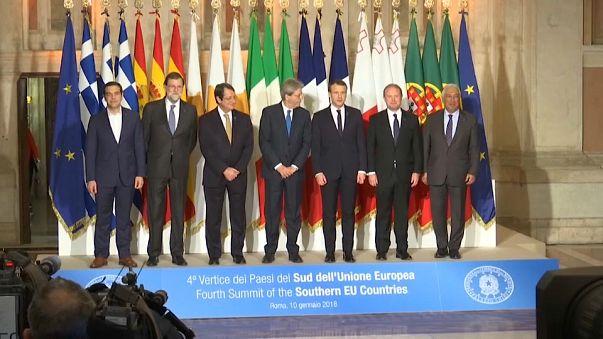 Güney Avrupa Ülkeleri Zirvesi Roma'da toplandı