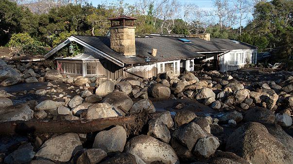 Coulées de boue en Californie : le bilan s'alourdit
