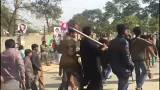 Protestos on the streets of Kasur