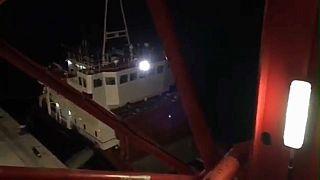 La Guardia Costera griega intercepta un barco lleno de explosivos