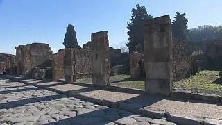 Πομπηία: Άγνωστοι βανδάλισαν τοιχογραφία