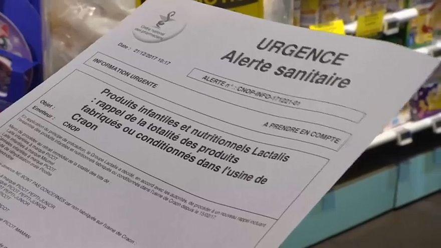 Salmonellen in der Babymilch: Lactalis-Skandal in Frankreich weitet sich aus