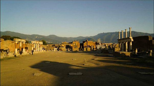 Actos de vandalismo en Pompeya