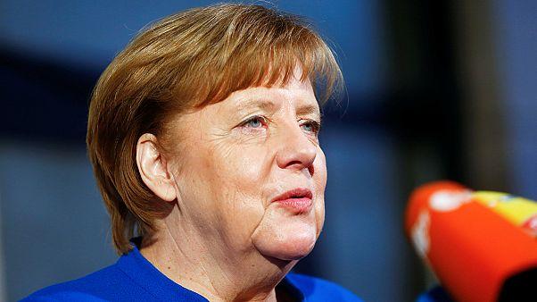 """Merkel: """"nehéz nap lesz a mai"""""""