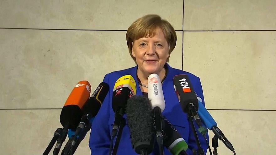 Il cancelliere tedsco Angela Merkel